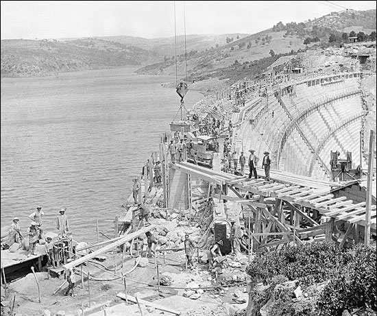 Marathon dam – construction