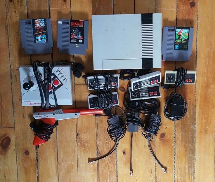 Original NES Nintendo Console Gun Video Game 15 pc Super Mario Bros Duck Hunt | Video Games & Consoles, Other Video Games & Consoles | eBay!