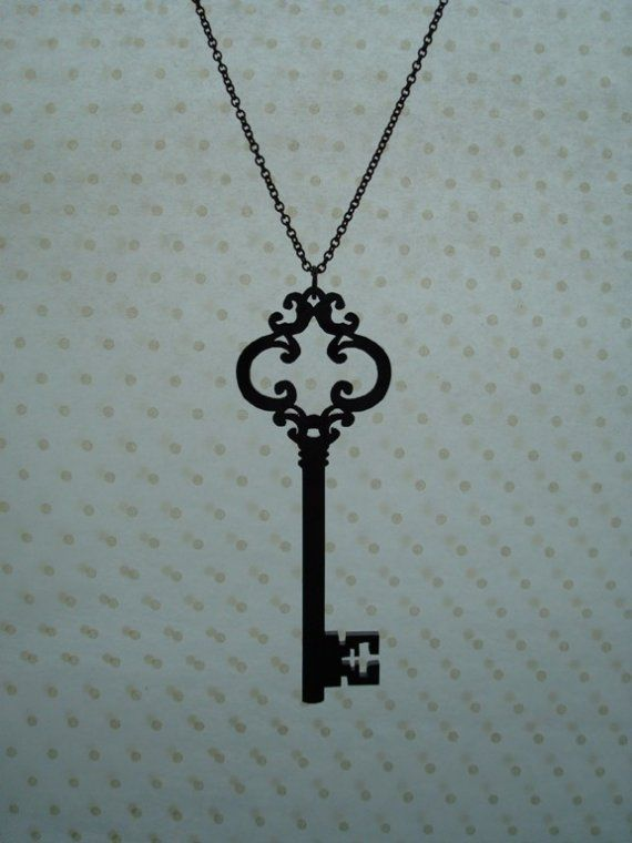 This antique key design will be my first tattoo (that is, if I ever go through with it!).