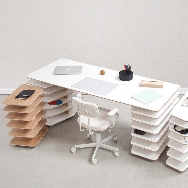 Cool office table designs  #cnc #officefurniture http://cnc.gallery/