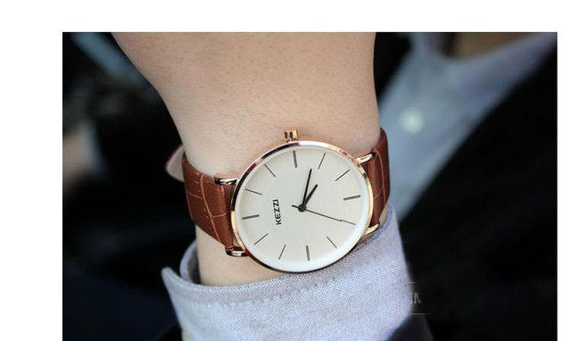 New Arrival KEZZI Leather Strap Quartz Watches Fashion Formal Analog Japan Movement Waterproof Ladies Dress Watch Clock Women