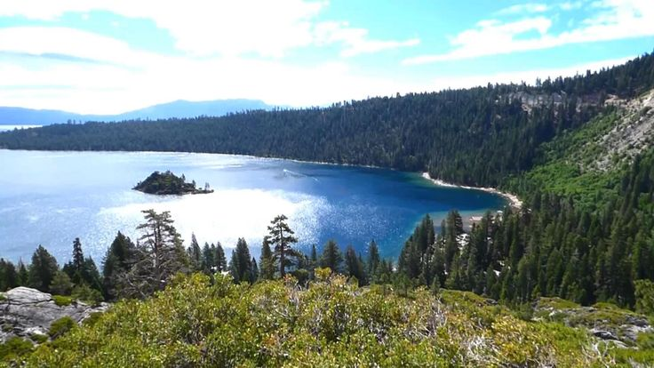 Lake Tahoe California, seen from Emerald Bay.