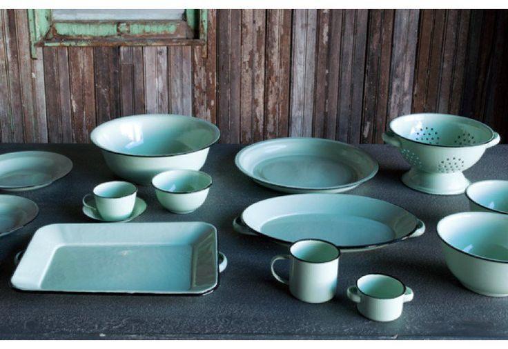 Colander | Enamelware | Enamel Cookware