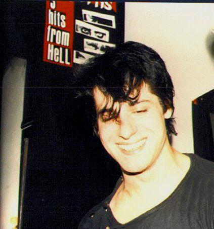 Cheerful, baby Glenn Danzig