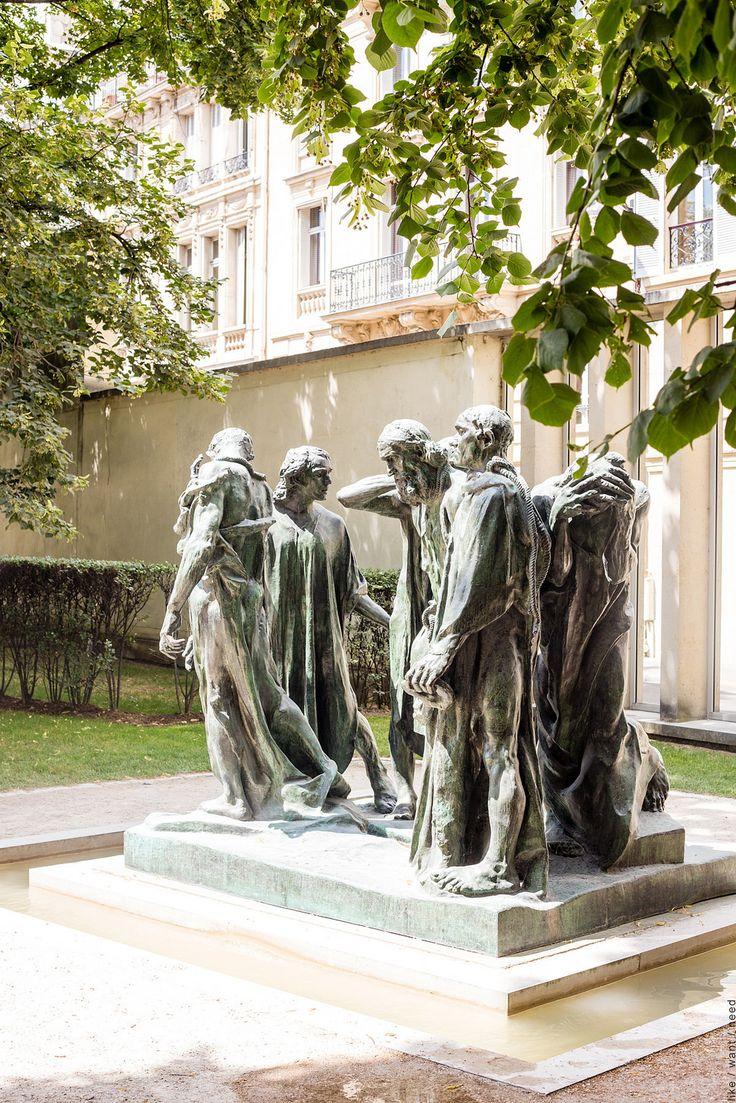 Musée Rodin, Paris, France Les Bourgeois de Calais