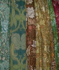 William Morris curtains....