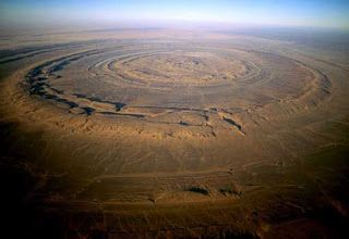 The Amazing World : The Richat Structure (Eye of the Sahara), Sahara n...