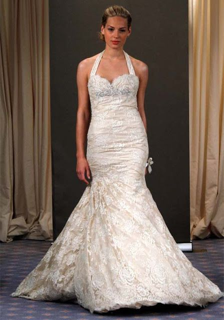 10 images about necklines and necklaces on pinterest for Wedding dress styles for big hips