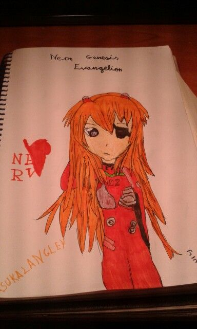 Asuka Langley from Neon Genesis Evangelion by me
