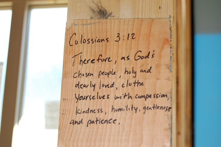 †♥ ✞ ♥† When building a new house, fill the house with Different Scriptures (Bible Verses) before the walls go up! Love this idea! I did this in the 4 corners of ours!! You can do that with each room -  (Children rooms, Master Bedroom, Kitchen, Den, Office, Playroom, Home TheaterRoom, Etc. )  †♥ ✞ ♥†  WHAT Bible Verses would you use in your house if you was building 0R restoring a house? †♥ ✞ ♥†