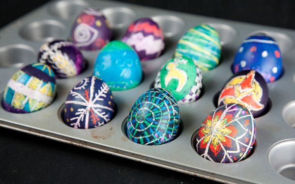 Easy Pysanky - How to Make Epic Ukrainian Style Easter Eggs... with no skill OR special tools!