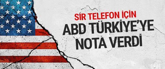 ABD'nin, başkonsolosluk görevlisi Metin Topuz'un tutuklanmasından sonra Türkiye'ye nota verdiği ve Topuz'un el konulan cep telefonunun iadesini istediği ortaya çıktı.