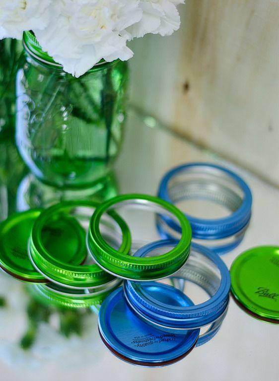 pretty tops! | Green Mason Jar Giveaway