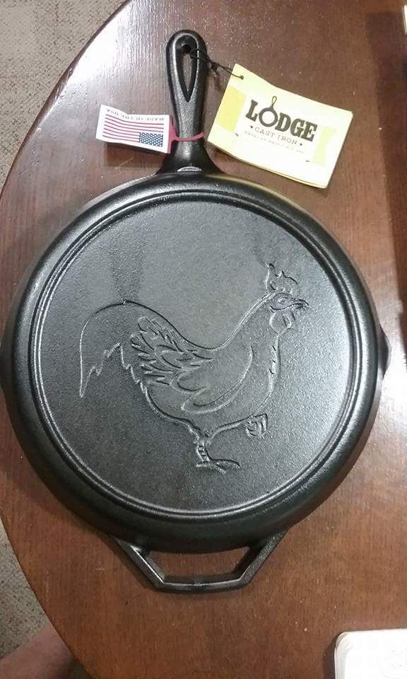 walmart kitchen appliances saloom tables made for by lodge | cast iron advertising and ...