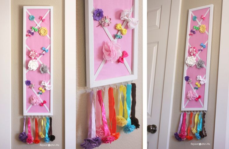 Repeat crafter me baby girl nursery diy decorating ideas for Homemade nursery ideas