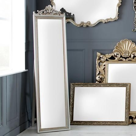Ornate Cheval Full Length Mirror | Dunelm