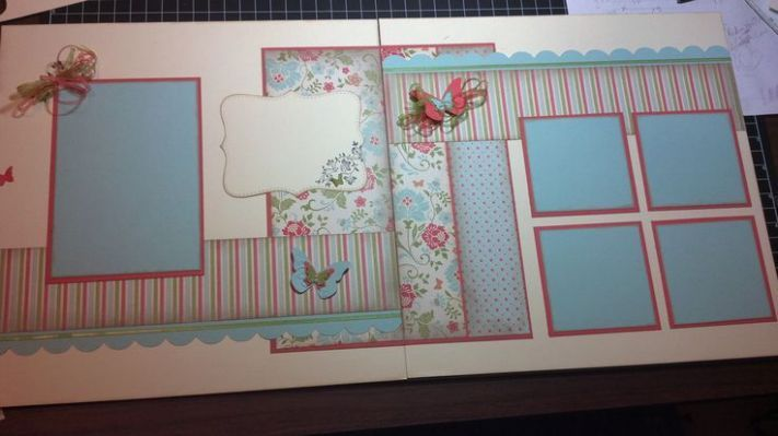 Page scrapbook Layout | Scrapbooking
