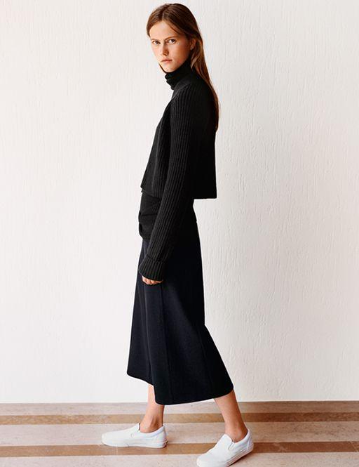 UNIQLO x Christophe Lemaire Milano Rib Skirt