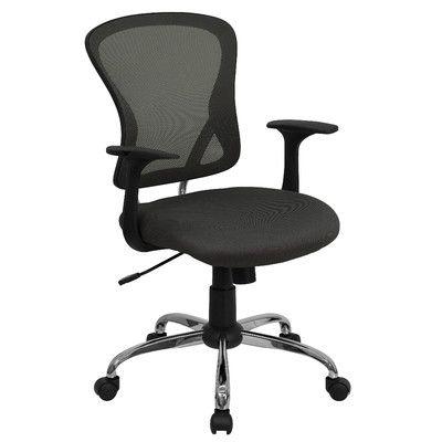 Flash Furniture Mid Back Mesh Office Chair & Reviews   Wayfair