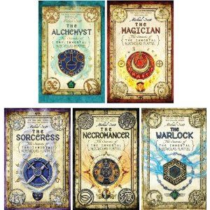 Terdiri dari: 1. The Alchemyst 2. The Magician 3. The Sorceress 4. The Necromancer 5. The Warlock