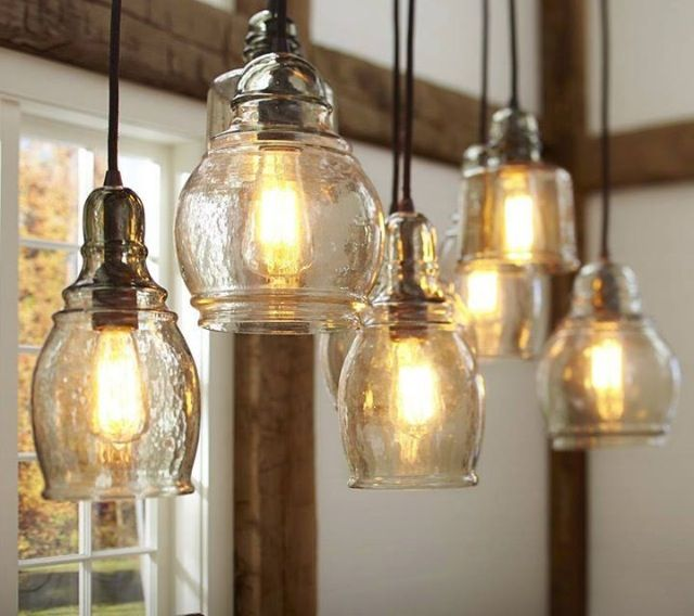 Pottery Barn Pendent Lighting I N T E R I O R