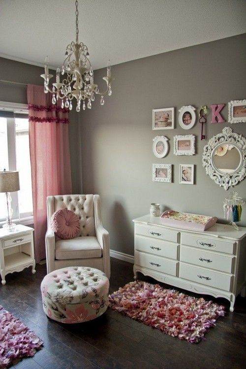 22 Chic Feminine Ispired Interiors Messagenote.com Dark wood greys pinks whites