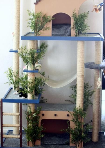 DIY Cat Tree -- Awesome: Amazons Cat, Home Projects, Cat Towers, Kitty Condos, Cat Trees, Cat Condos, Cat Home, Diy Cat, Ana White