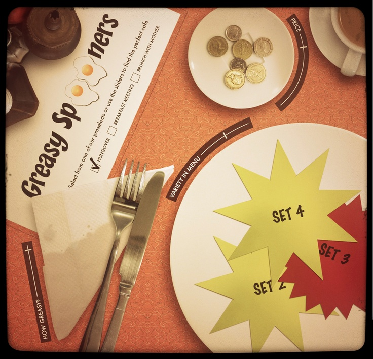 23red's concept for .net magazine  ~ a comparison website for greasy spoons