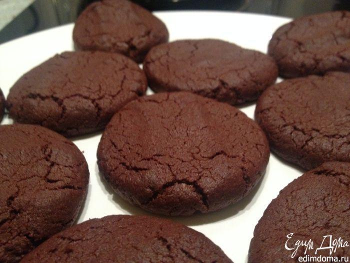 Быстрое шоколадное печенье | Кулинарные рецепты от «Едим дома!»