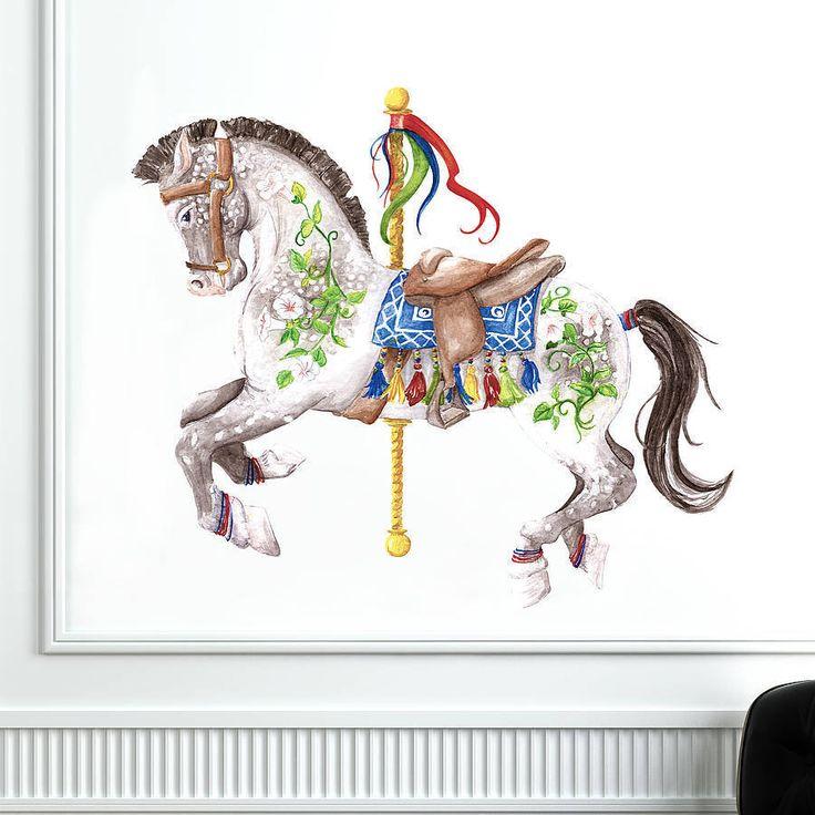 Carousel Horse Wall Sticker