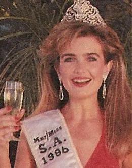 Miss SA - 1986 - Sandy McCormack