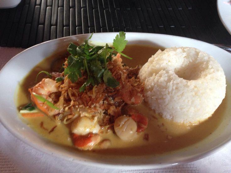 Rica comida vietnamita, ambientación