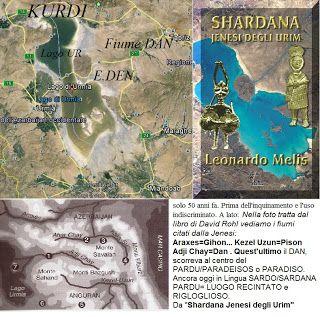 Shardana i Popoli del Mare (Leonardo Melis): EDEN individuato in Anatolia