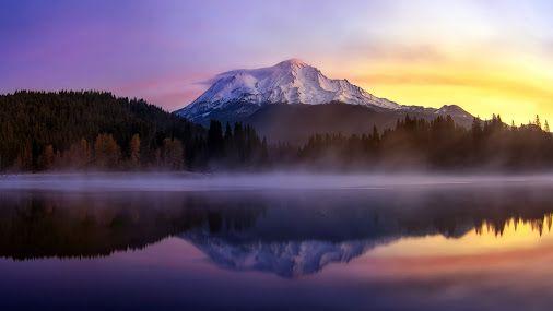 Гора Шаста в Калифорнии, США