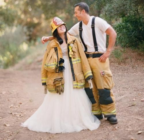 Firefighter Wedding Themes Ideas: 15 Best Images About Firefighter Girls, Help Please