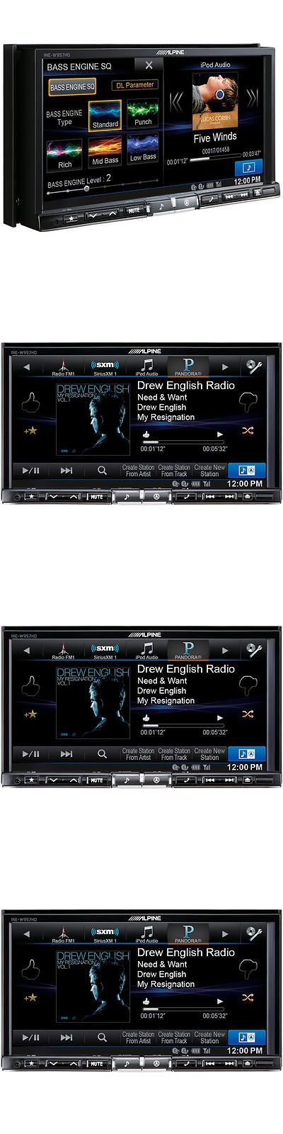 Video In-Dash Units w GPS: Alpine Ine-W967hd Double Din Bluetooth Digital Media Gps Hd Radio Car Stereo -> BUY IT NOW ONLY: $1499.95 on eBay!