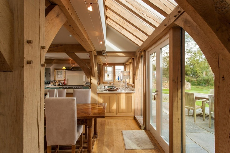 5 bedroom oak frame home in Cornwall | Carpenter Oak