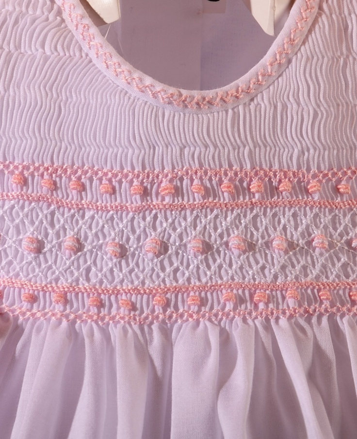 Close-up of sweet baby summer dress.