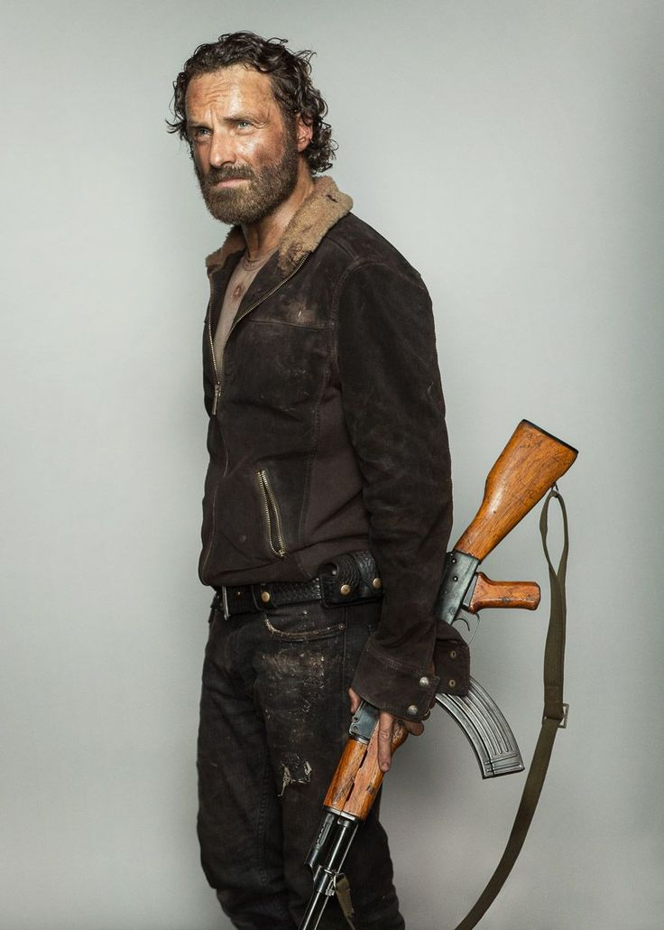 Andrew Lincoln As Rick Grimes In Quot The Walking Dead