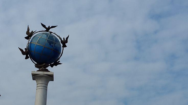 Kiev  freedom globe