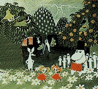 Spring in Moominvalley. (Tove Jansson)