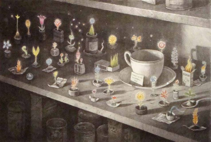 By Shaun Tan - from his short story Eric in his book Tales From Outer Suburbia
