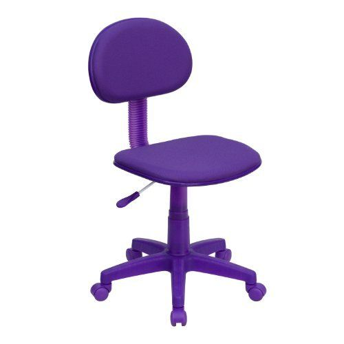 Cheap office chair - Pin it :-) Follow us :-)) AzOfficechairs.com is your Officechair Gallery ;) CLICK IMAGE TWICE for Pricing and Info :) SEE A LARGER SELECTION of  cheap  office chair at http://azofficechairs.com/category/office-chair-categories/cheap-office-chair/ - office, office chair, home office chair -  Flash Furniture BT-698-PURPLE-GG Purple Fabric Ergonomic Task Chair « AZofficechairs.com