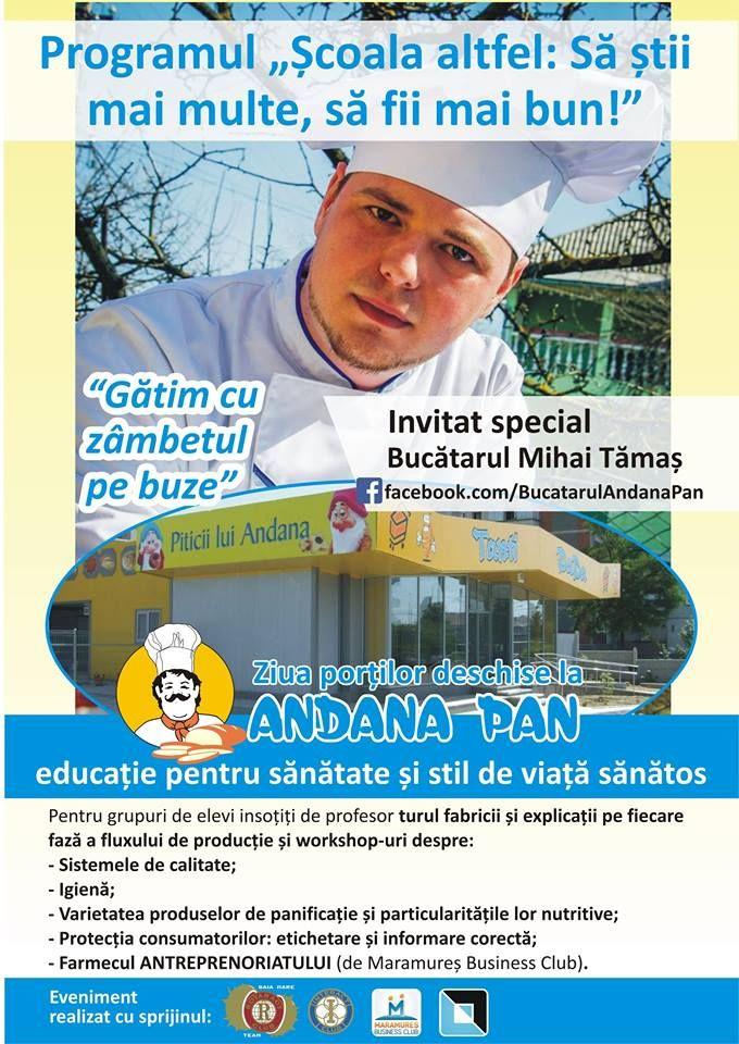 Ziua Portilor Deschise la Brutaria Andana din Baia Mare in programul scoala altfel