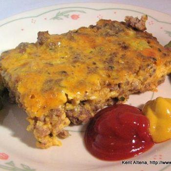 """Atkins Diet Recipes: Low Carb """"Big Mac"""" Pie (IF) Recipe - ZipList"""