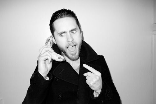 banana - Jared Leto by Terry Richardson