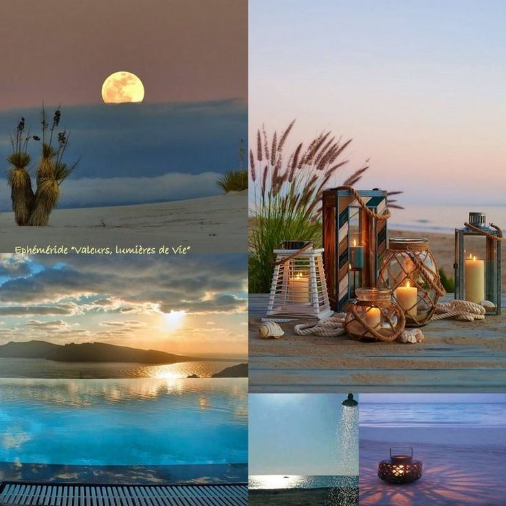 In the mood for... BEACH BLUE SUNSET!
