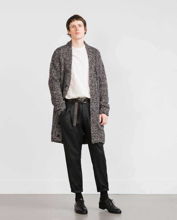 ZARA - MAN - STUDIO KNIT CARDIGAN