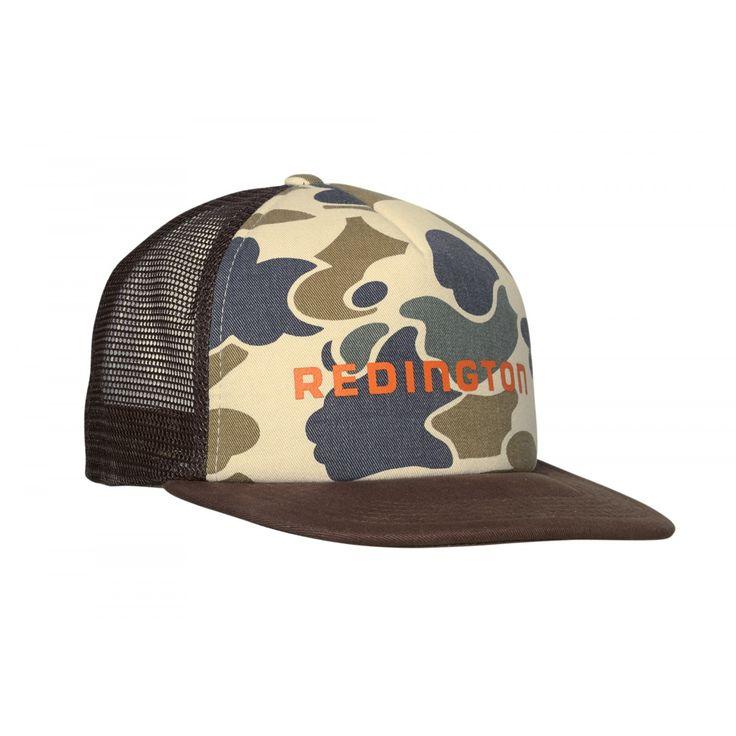Camo foam trucker fly fishing gear redington fly for Fly fishing trucker hat