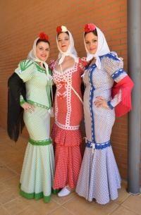Traje femenino de chulapas Madrid
